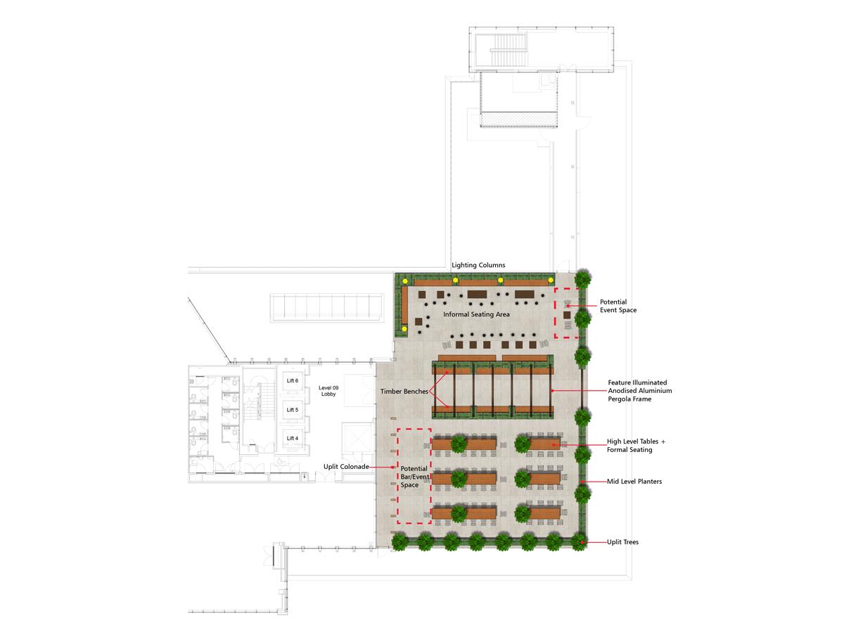 Sky Garden Scheme Plan